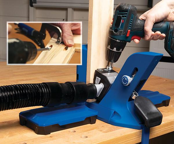 drilling holes for pocket screws
