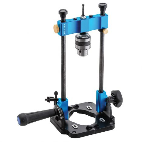 Rockler portable drill guide with vise