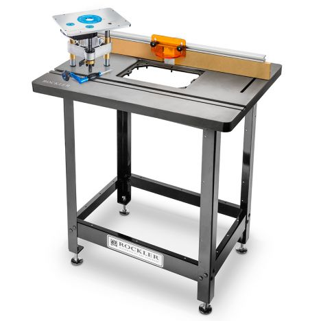 Rockler promax cast iron router table