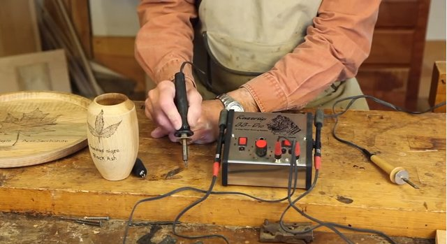 Wood burning tools and projects