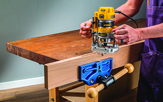 Quick Release Workbench Vise