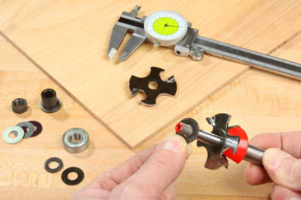 Removing washer from a slot cutter