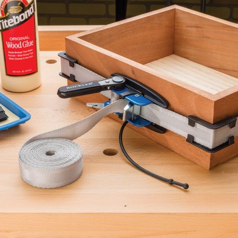 Rockler fifteen foot band clamp with accessory kit