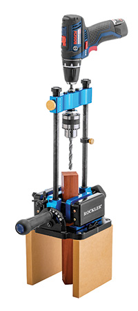 Rockler drill guide kit with attached vise