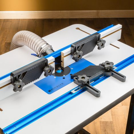 Rockler four piece router table accessory kit