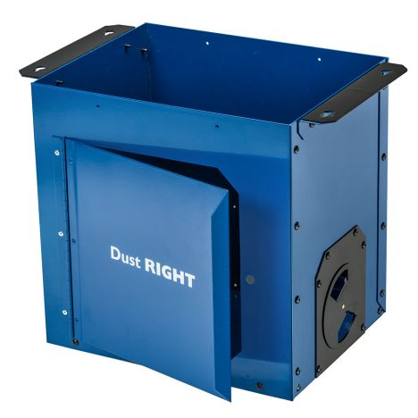 Rockler dust right router table dust bucket