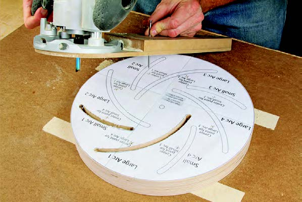Cutting slots in two longworth bowl chuck blanks
