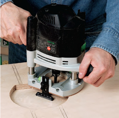 routing with wood router