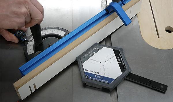 cutting mitered segments