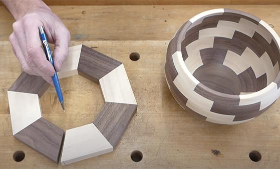 segmented bowl turning blank