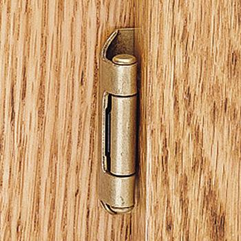 semi concealed hinge