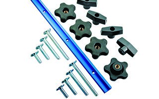 rocker miter and t slot kit individual pieces