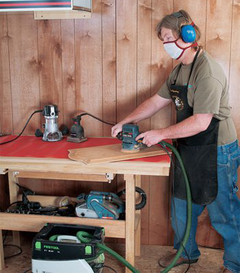 router dust collection system