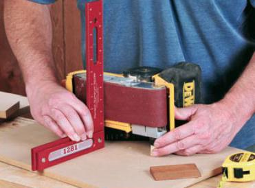 measuring sander