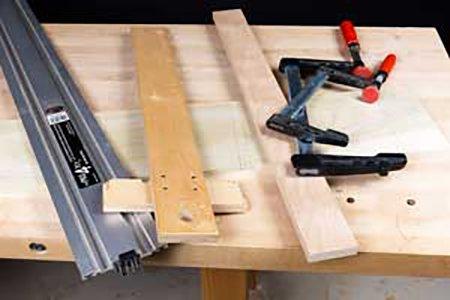 Different options for guiding dado cut, including shop made fence