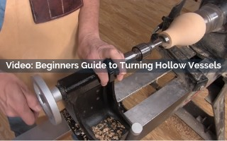 Beginners Guide to Turning Hollow Vessels Video Screenshot