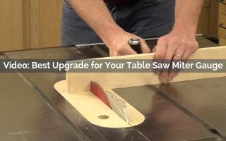 Best Upgrade For Your Table Saw Miter Gauge - Rockler