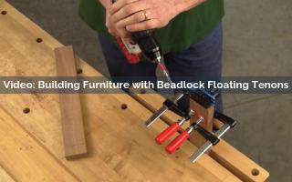 Building Furniture with Beadlock Floating Tenons Video Screenshot