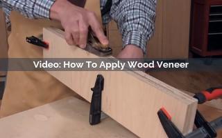 how to apply wood veneer video screenshot