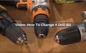 How To Change A Drill Bit Video Screenshot