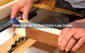 how to cut cross lap joints video screenshot