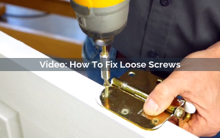 how to fix loose screws video screenshot