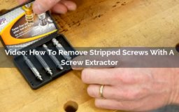 how to remove stripped screws with a screw extractor video screenshot