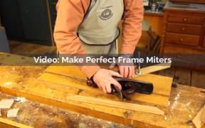 making perfect frame miters video screenshot