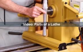 parts of a lathe video screenshot