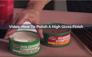 How To Polish A High Gloss Finish Video Screenshot