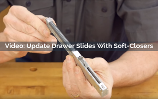 Update Drawer Slides with Soft Closers Video Screenshot