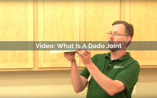 what is a dado joint video screenshot