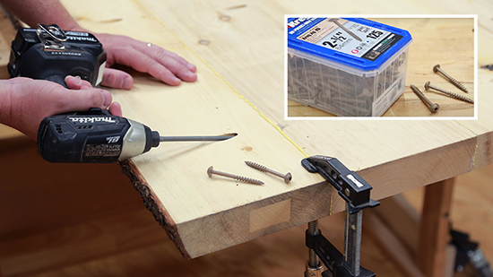driving a pocket hole screw