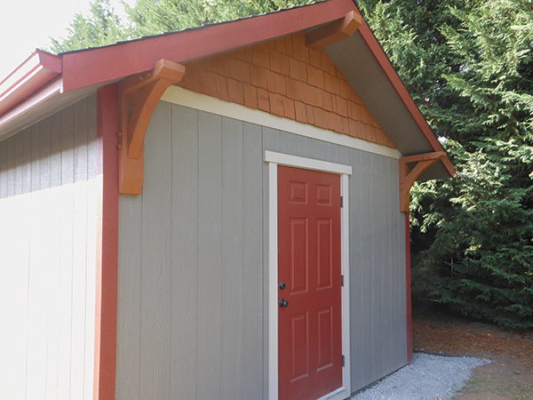 A shed built for dehumidifying lumber