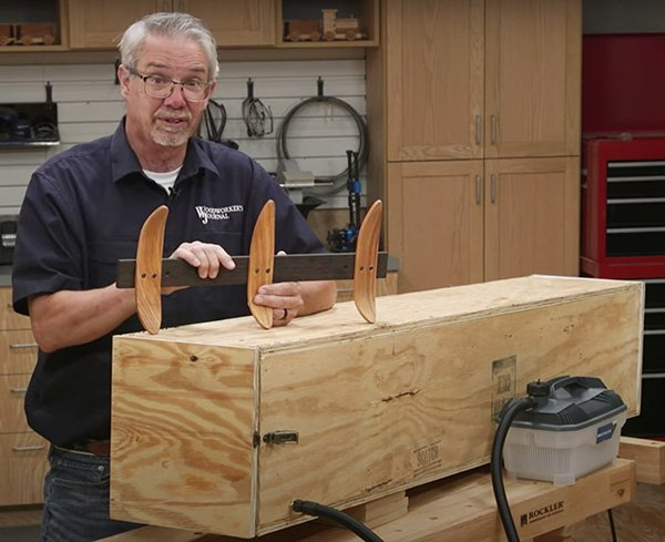 steam bending kit with coat hook project
