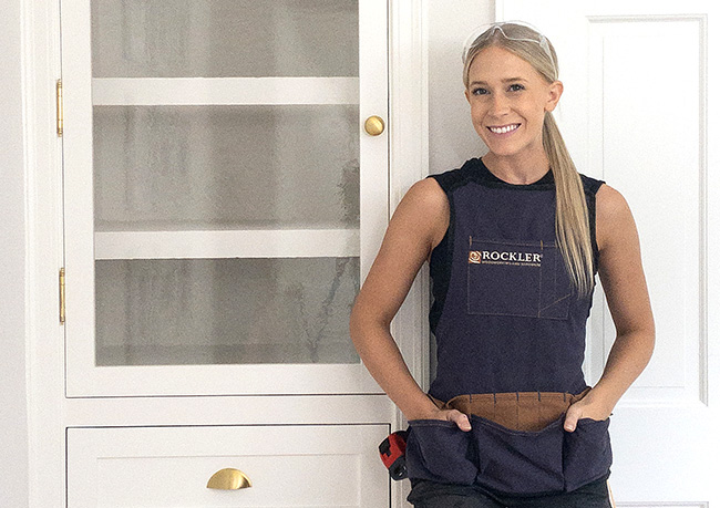 Stefani Terry with Closet Makeover