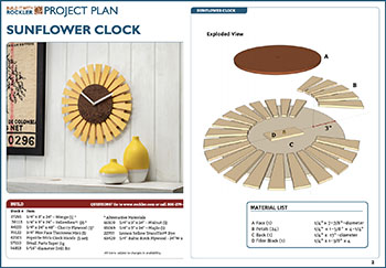 sunflower project plan download