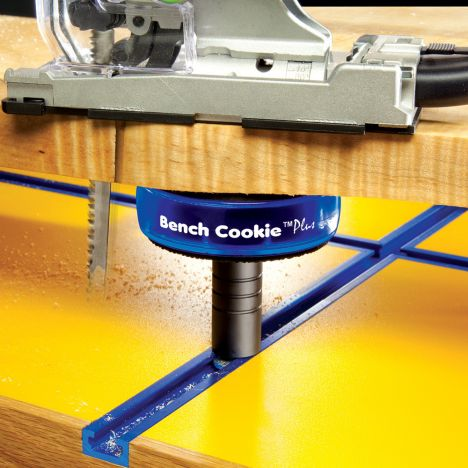 Rockler t-track bench cookier risers