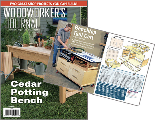 table saw cart project plan order