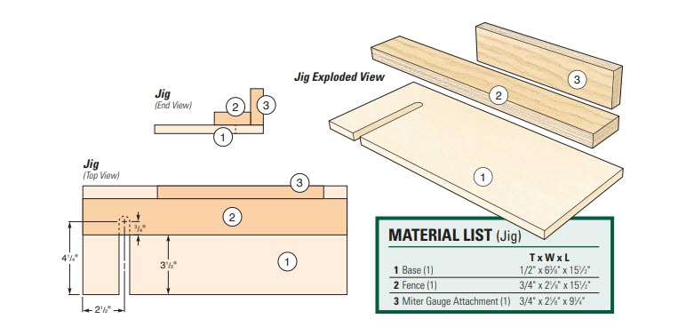 taco holder drawing and materials list