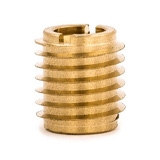 Example of a brass threaded insert fastener