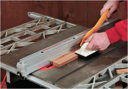 Gang cutting tambour slats