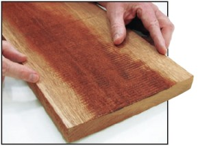 Cupped or warped boards can be flattened on a jointer