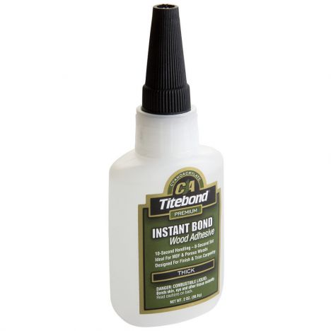Titebond instant bond thick wood adhesive