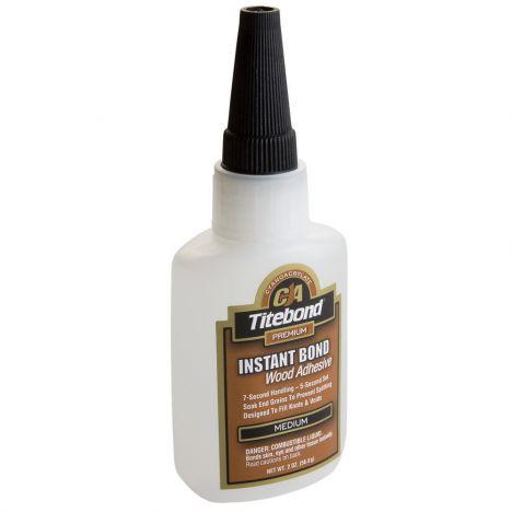 Titebond medium thickness instant bond ca glue