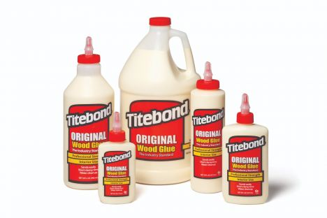 Titebond original wood glue bottles