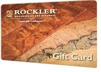 rockler gift card