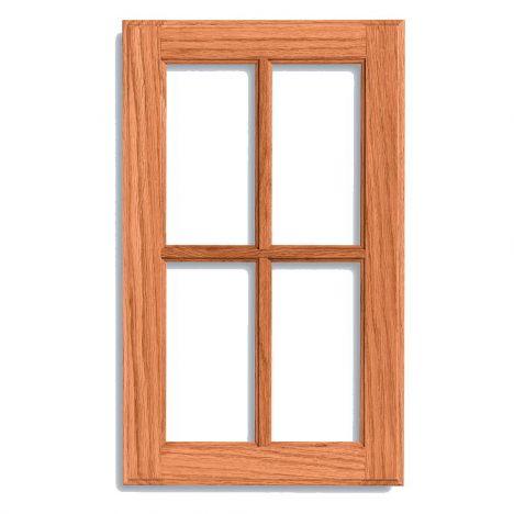 Traditional door frame style cabinet door