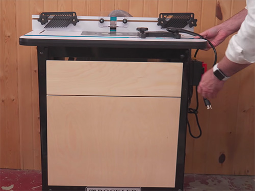 David Picciuto's ultimate router table with accessories