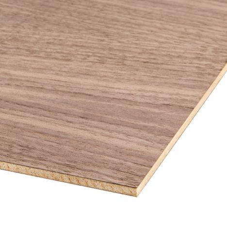 Piece of 24 inch by 48 inch walnut plywood